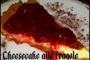 Cheesecake alle fragole | Una cucina da single | Pinterest | Cucina