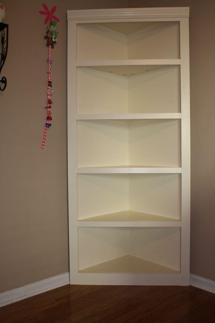 Headboard Made From Bookcases Children S Furniture Corner Shelf Custom Bookcase