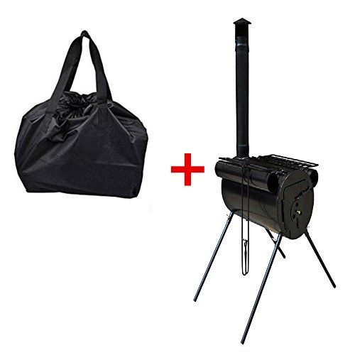 Portable Military C&ing Steel Wood Stove Tent Heater For Cooking BBQ With Bag -- Check  sc 1 st  Pinterest & Portable Military Camping Steel Wood Stove Tent Heater For Cooking ...