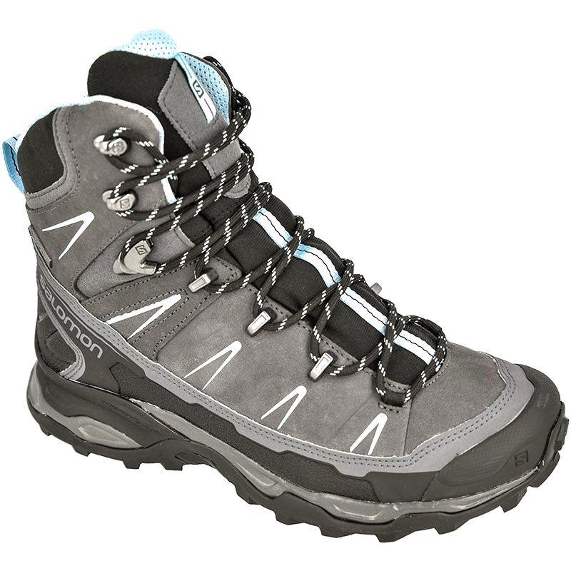 Buty Trekkingowe Salomon X Ultra Trek Gtx Szare Boots Hiking Boots Shoes