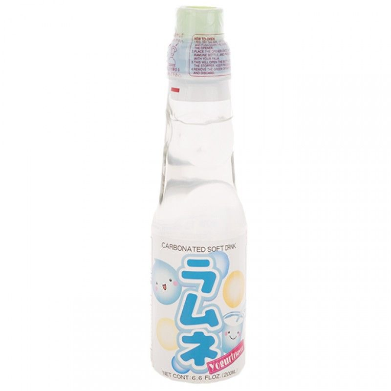 Ramune Yogurt Flavored Soda 6 6 Oz Yogurt Flavors Japanese Drinks Yoghurt