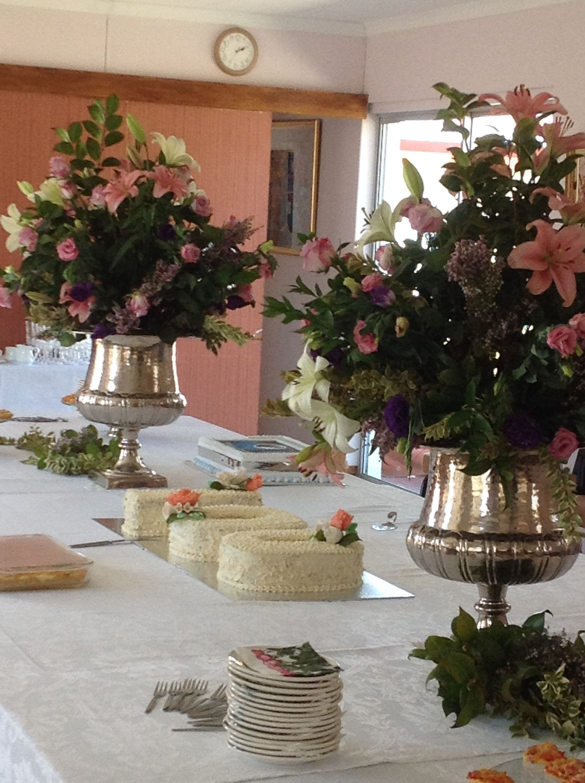 Table And Cake At My Mums 100th Birthday Celebration What A Privilage