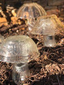 DIY Solar Mushroom - The Shabby Tree