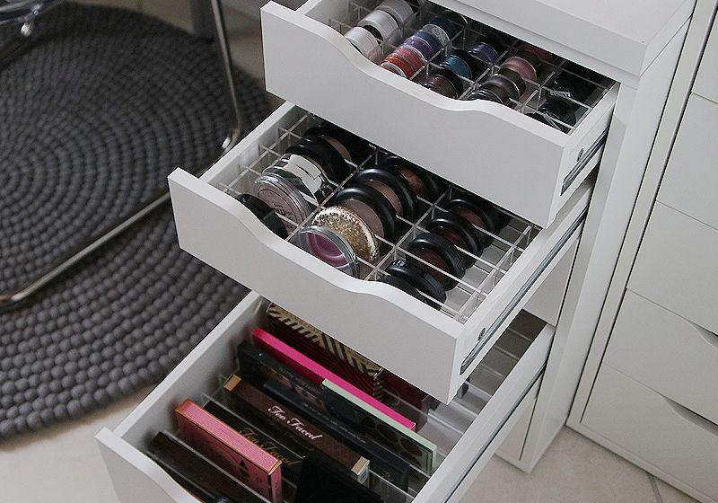 Photo of [Interior] TidyUps Aufbewahrung für Ikea Alex – Schminktisch