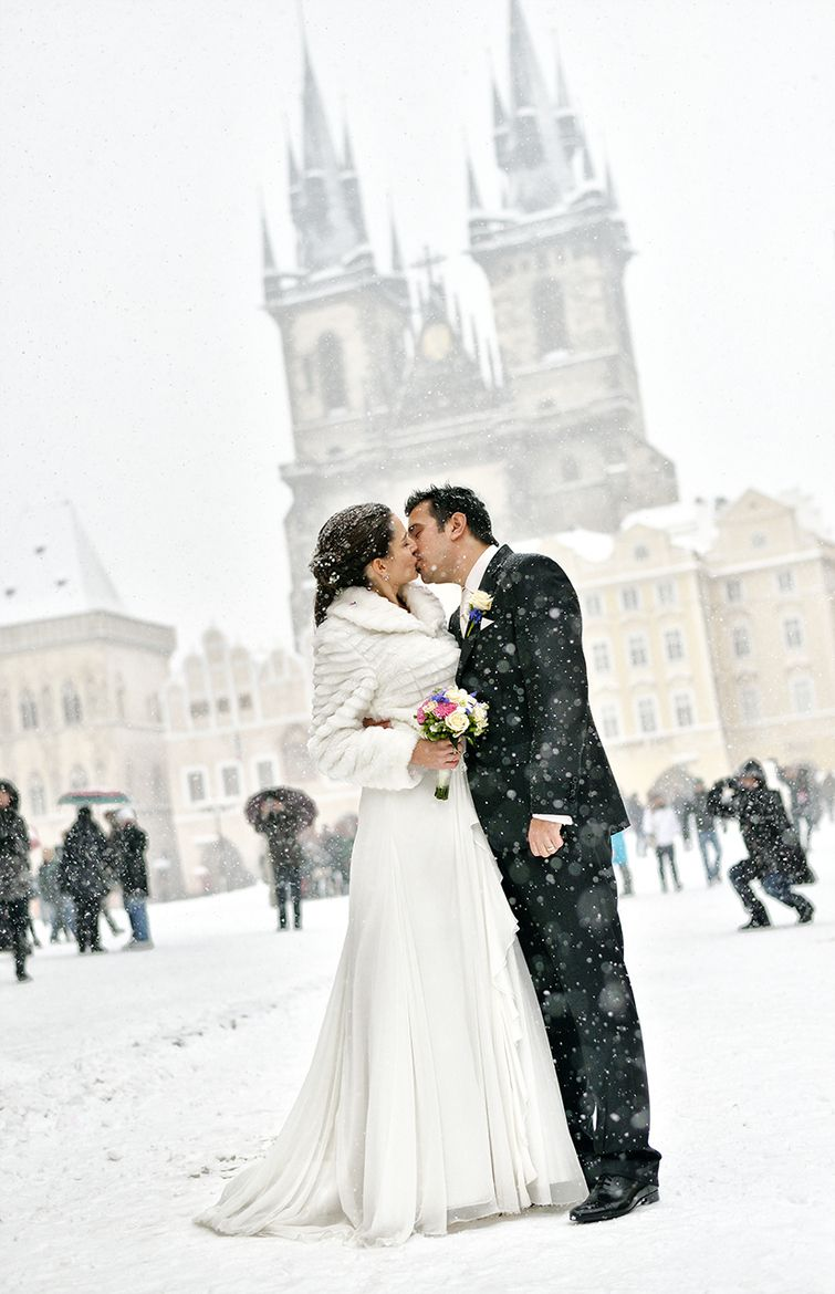 White Wedding in Prague