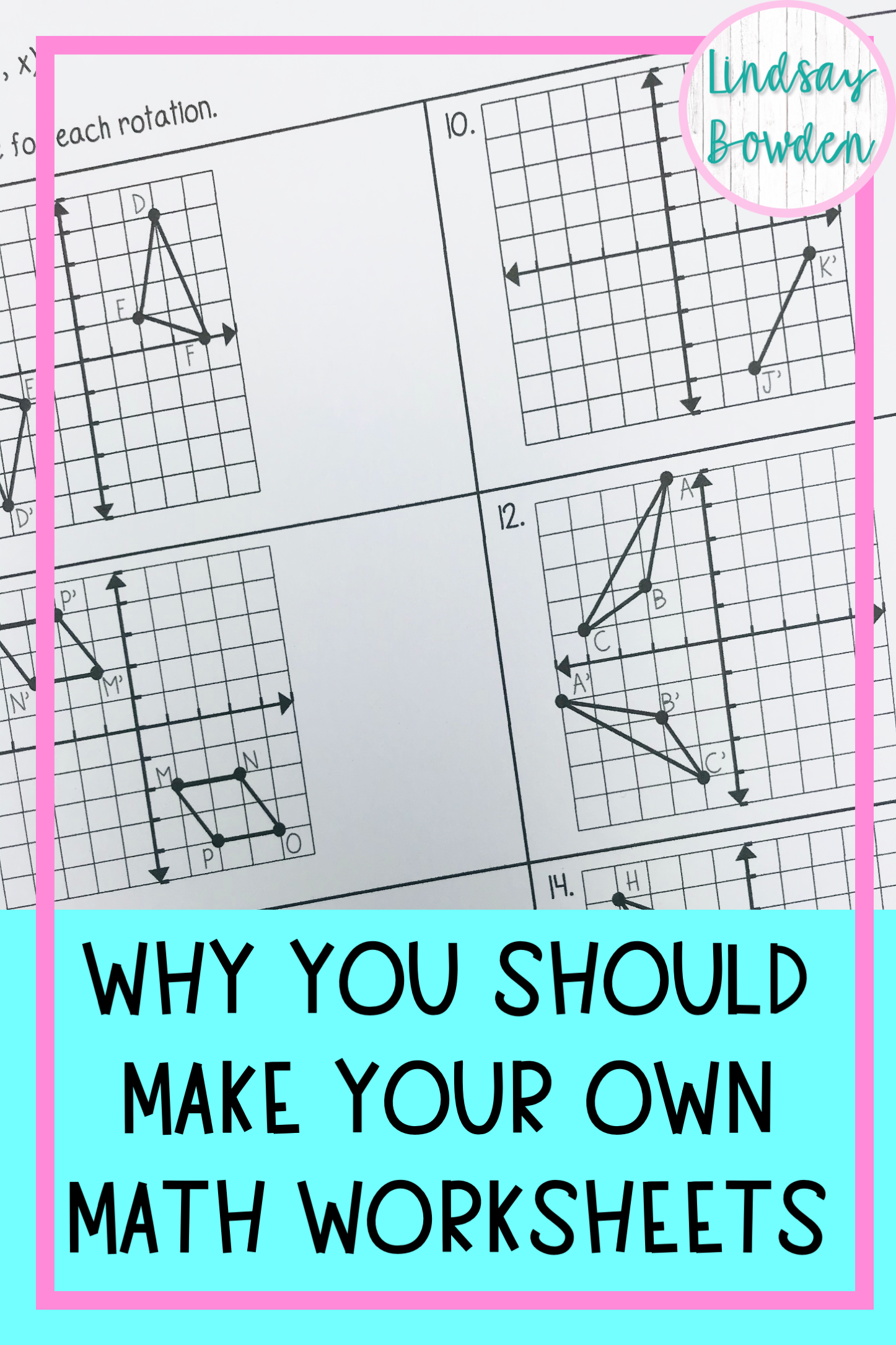 5 Reasons You Should Make Math Worksheets In