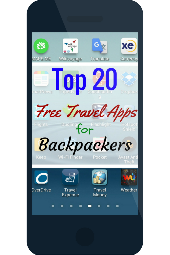 Top 20 Free Travel Apps for Backpackers Travel app, Free