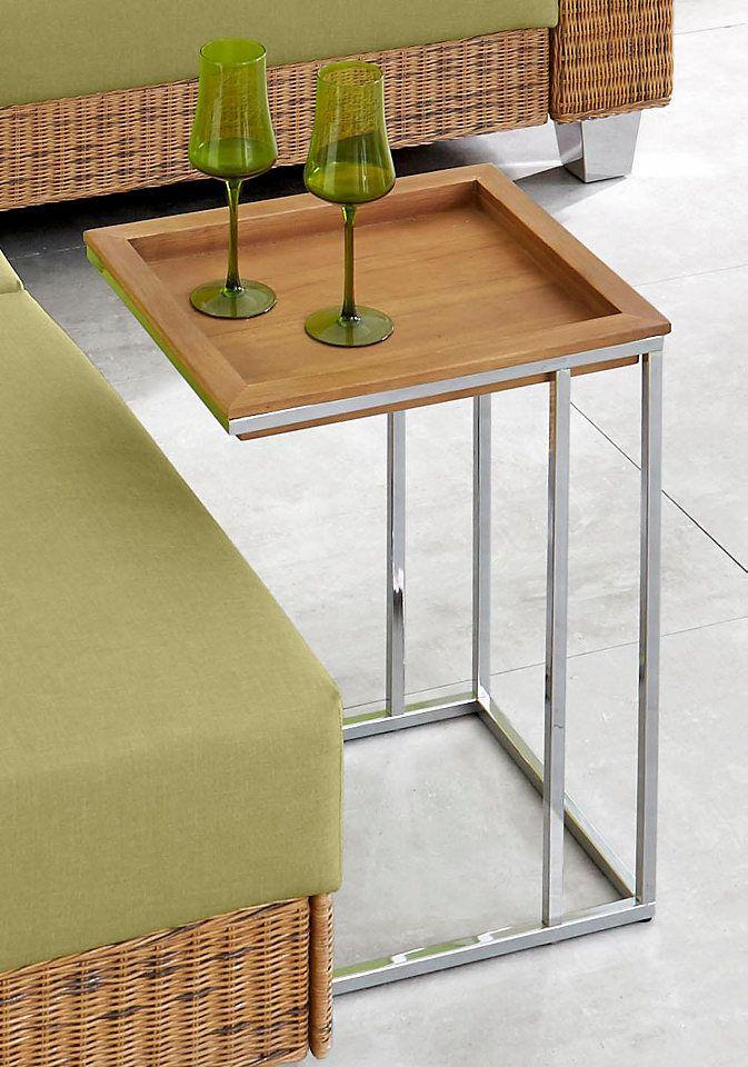 INOSIGN Beistelltisch Mit Herausnehmbarem Tablett. Wood TablesSide ...