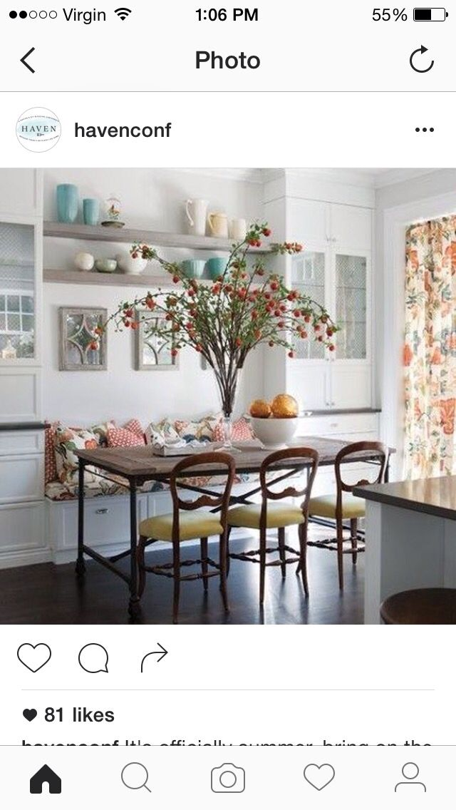 Pin By Laura Carrieri On Kitchen Dining Nook Kitchen Table