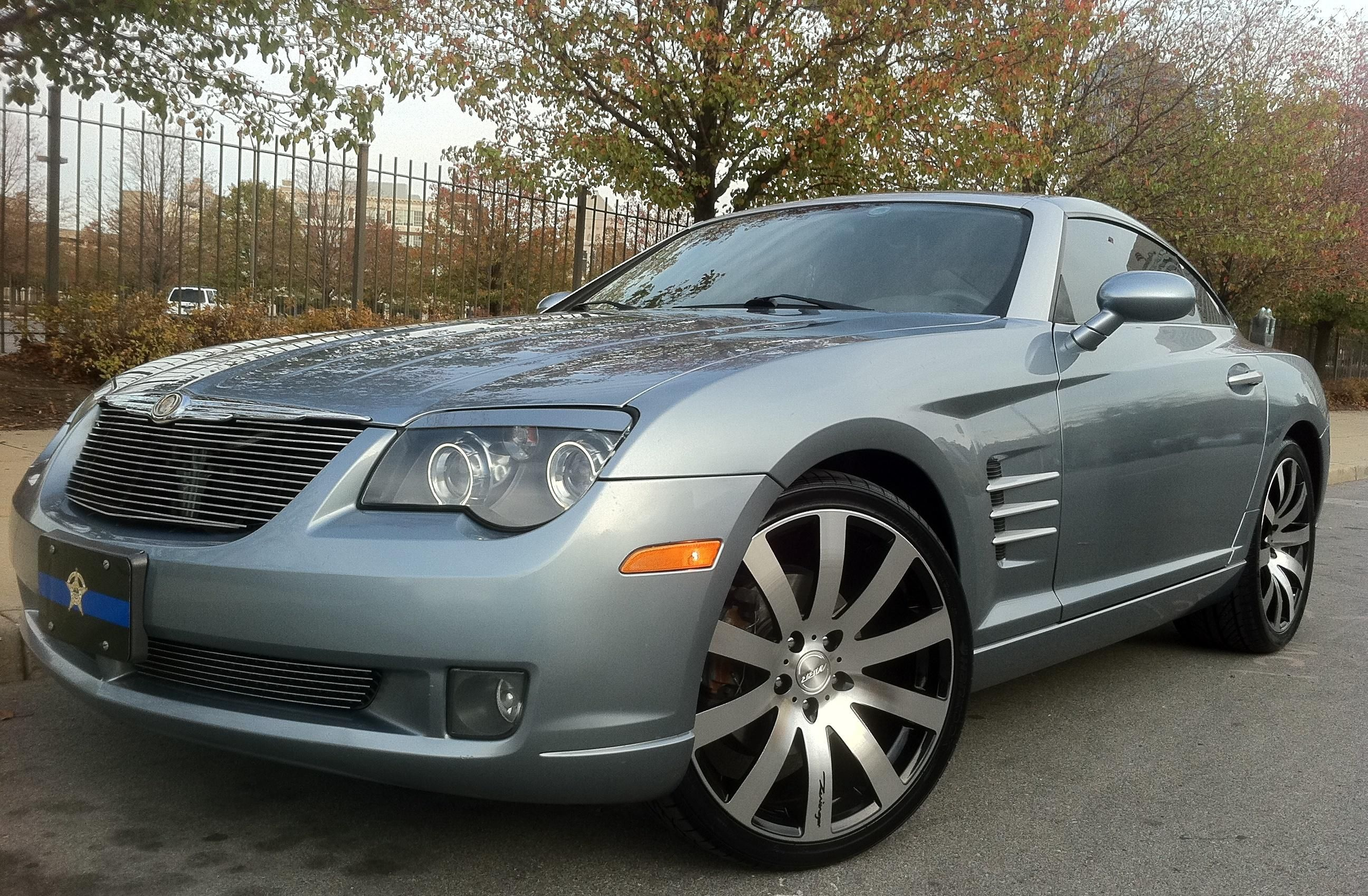Chrysler Crossfire With Our Custom Billet Grille On It Our