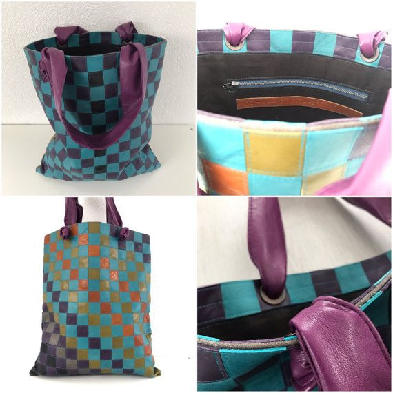 S Etsy Listing 501579102 Multicolor Leather Tote Bagsleather