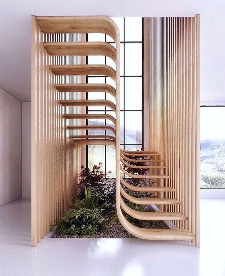 No More Mondays On Instagram Simply Brilliant Staircase By Eisa Ghasemian Via Designboom Nomoremondays Stairs Design Stairway Design Stairs