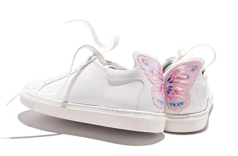 SOPHIA WEBSTER Bibi Butterfly sneakers Buy Cheap Latest Collections Buy Cheap Prices shwyXyc