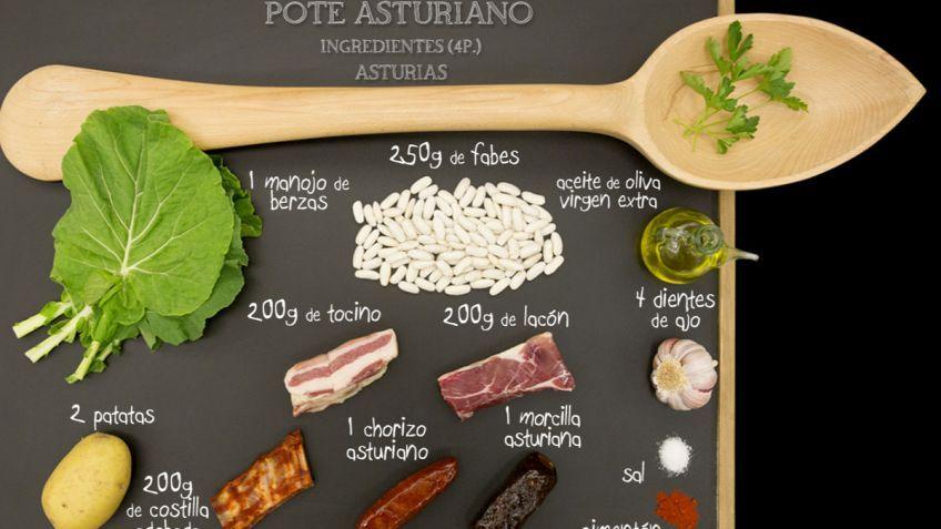 Pote asturiano - Ingredientes