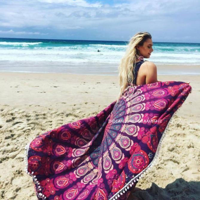 f3e6c46192136 Beach Cover Up Bikini Boho Summer Dress Swimwear Bathing Suit Kimono Tunic