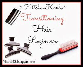 Transitioning Hair Regimen