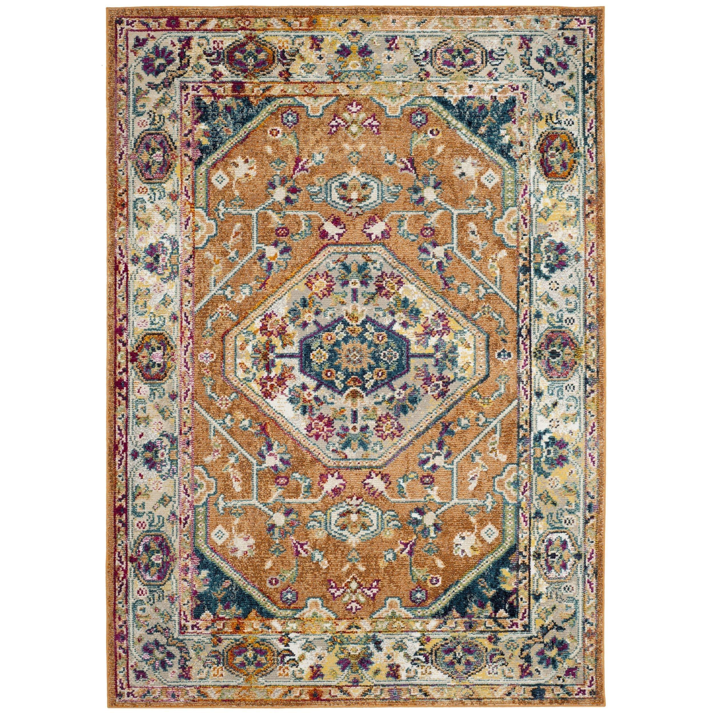 Safavieh Savannah Basmah Boho Oriental Polyester Medallion Rug