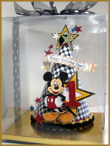 Mickey Mouse Birthday Hat Image