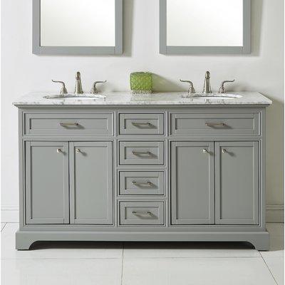 "Darby Home Co Darry 60"" Double Bathroom Vanity Set | Birch Lane"