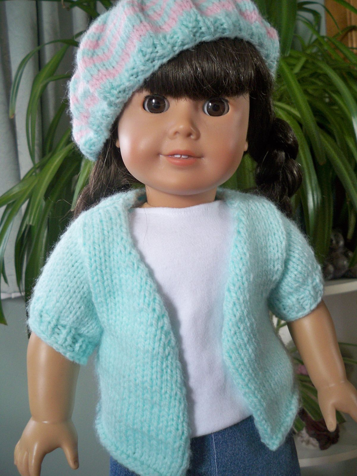 Ravelry: Spring Sweater for American Girl Dolls by Janet Longaphie ...