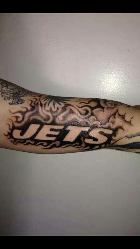 Sleeve New York Jets Tattoo