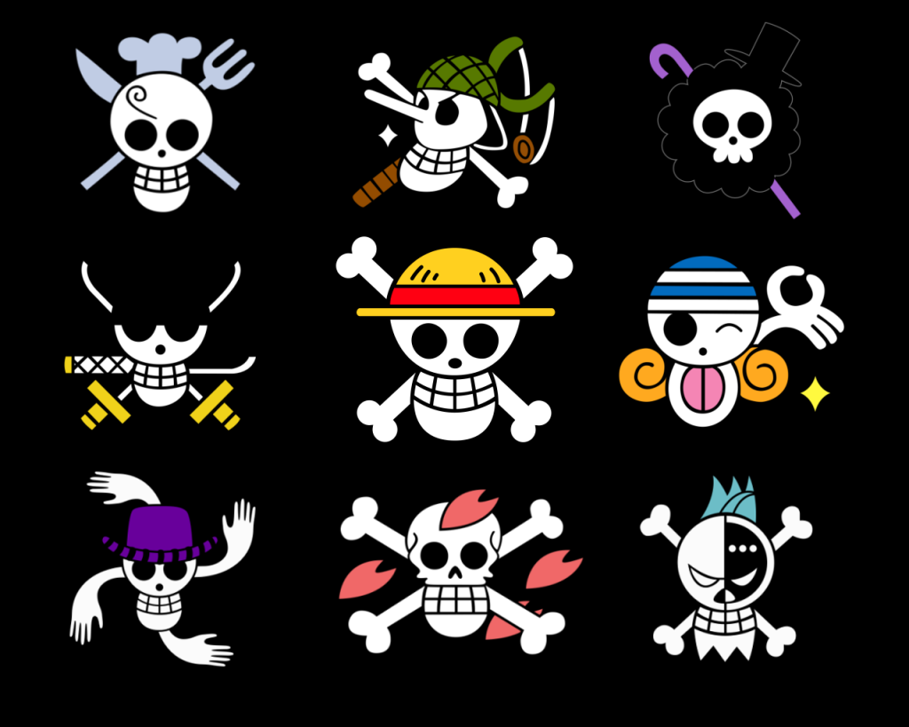 Download Wallpaper 3840x2160 Skull, Black, White, Drawing, Pirate ...