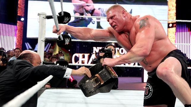 john cena vs brock lesnar wwe world heavyweight championship