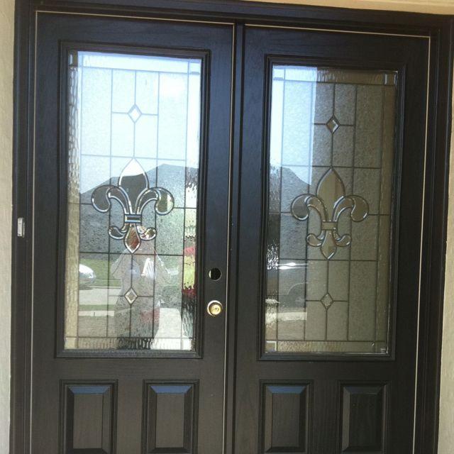 Glass Front Kids Room Decor: Glass Fleur De Lis Front Door! Oh My Gosh