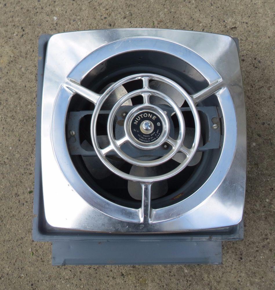 kitchen exhaust fan nutone exhaust
