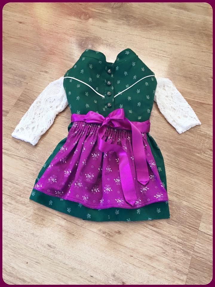 Baby Dirndl / Vui Gfui Trachtenmanufaktur / http://vuigfui-trachtenmanufaktur.de