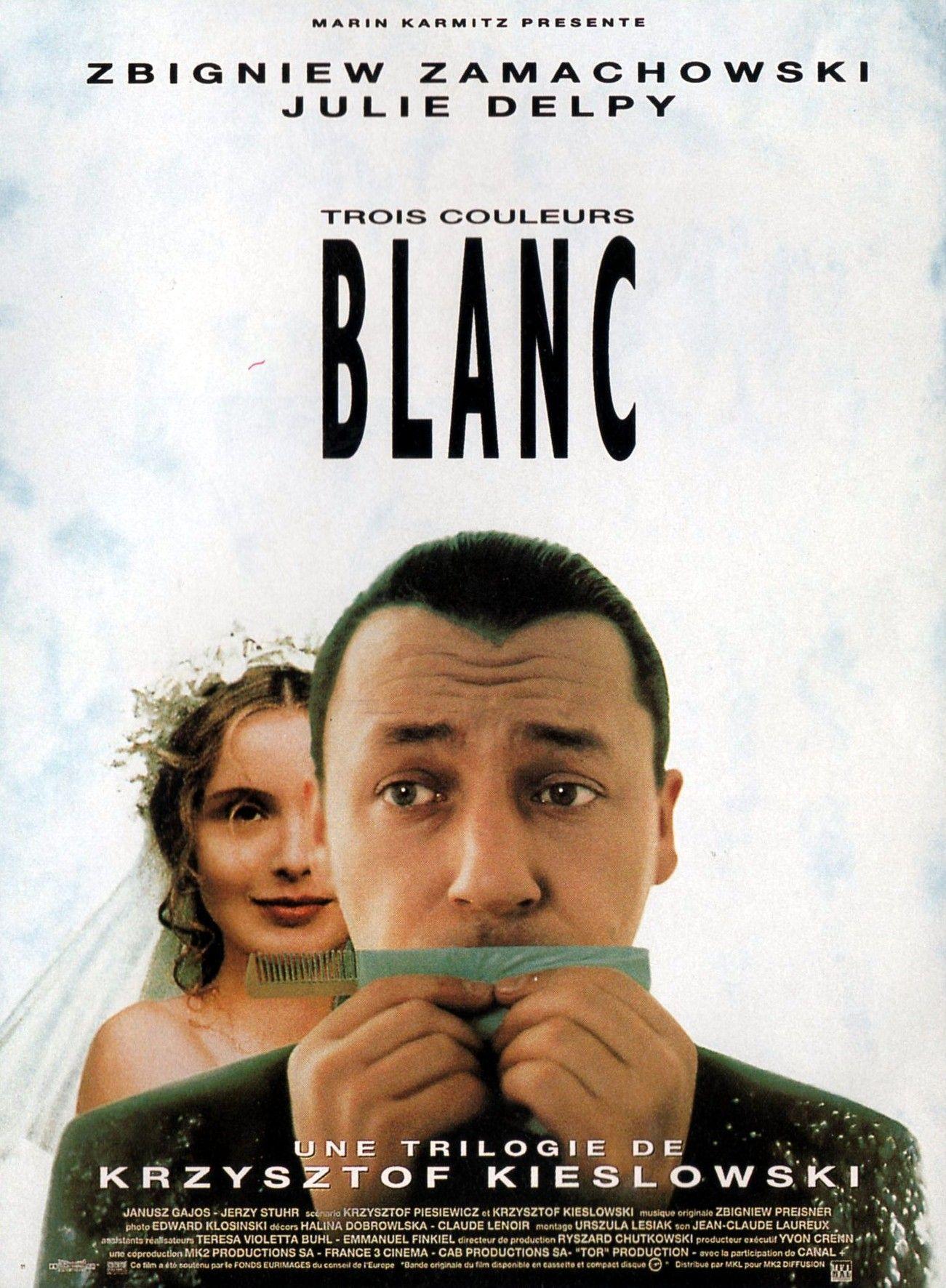 Plakat filmowy Blanc