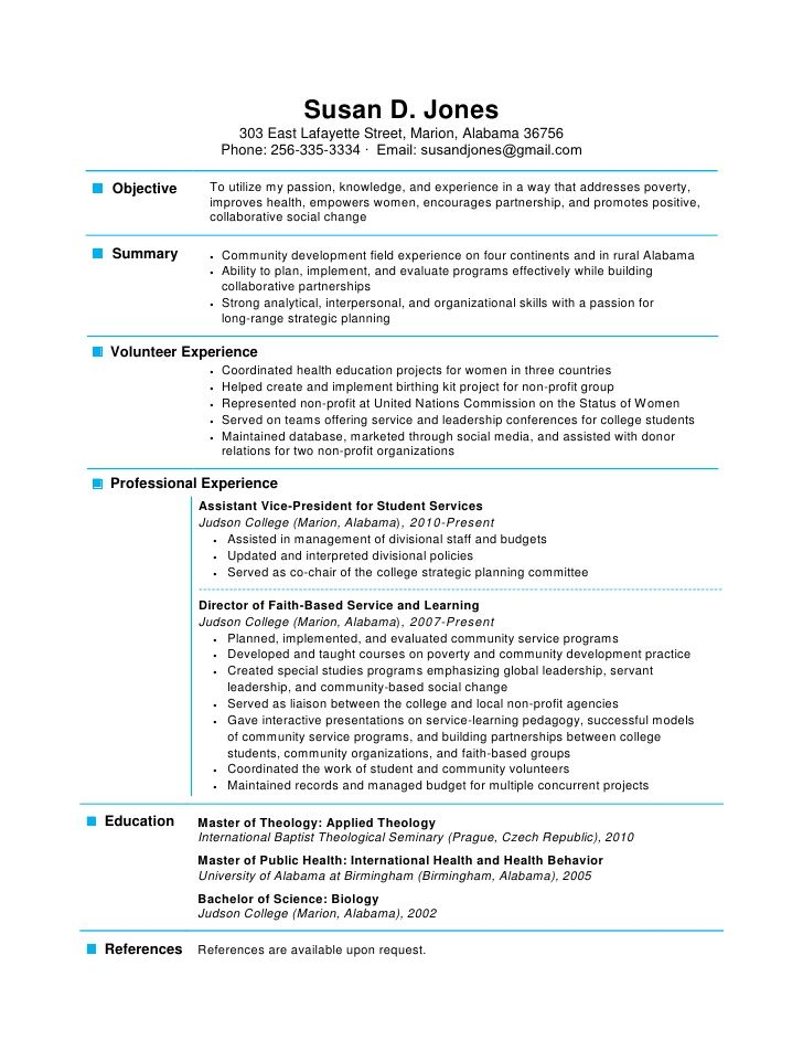 resumes phlebotomy resume experience one page templates free - community development manager sample resume