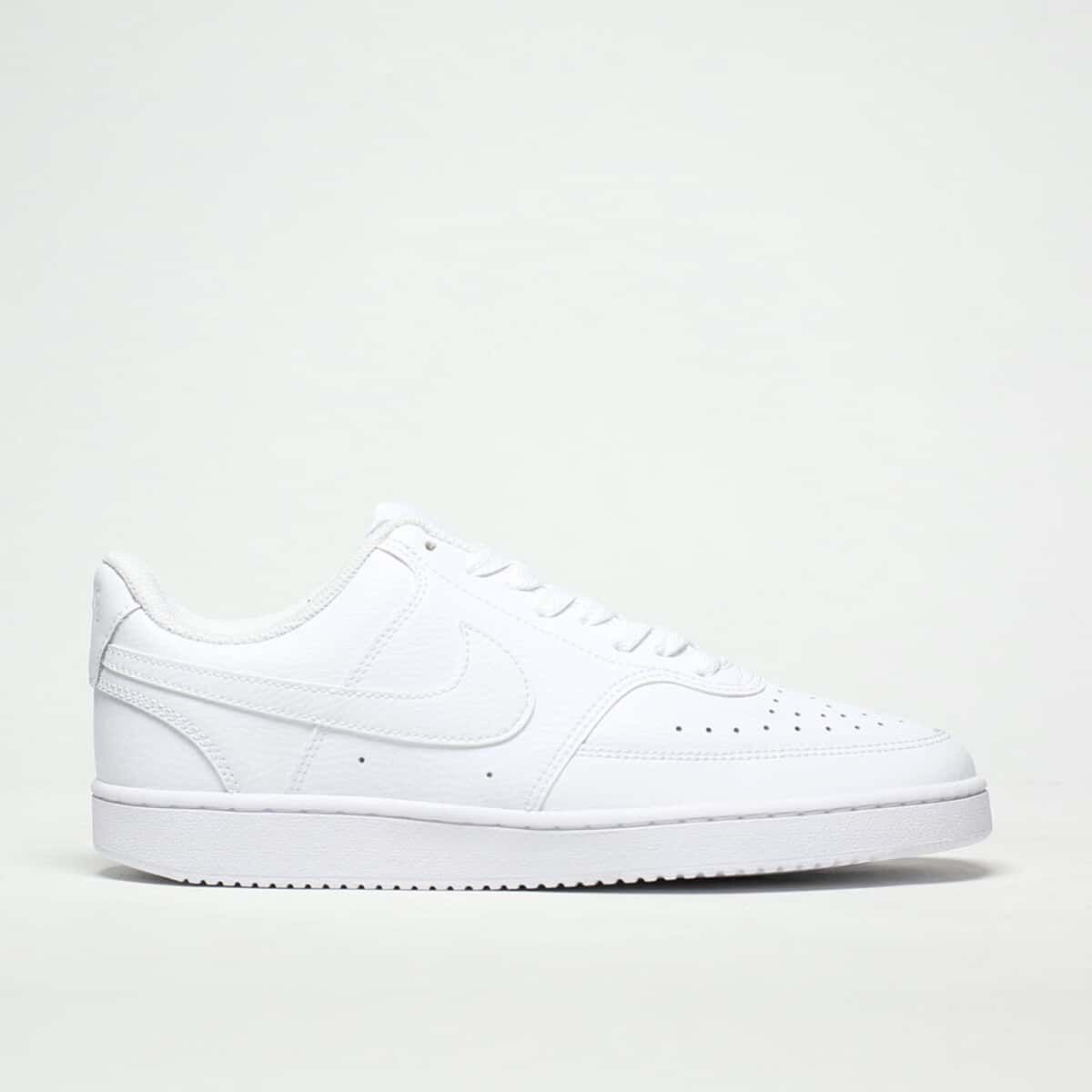 Womens White Nike Court Vision Trainers
