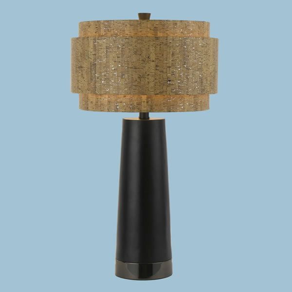 View the af lighting 8427 tl candice olson aviva table lamp with af lighting 8427 tl nickel candice olson aviva table lamp with silver tan natural cork shade and 3 way switch finished in nickel aloadofball Gallery