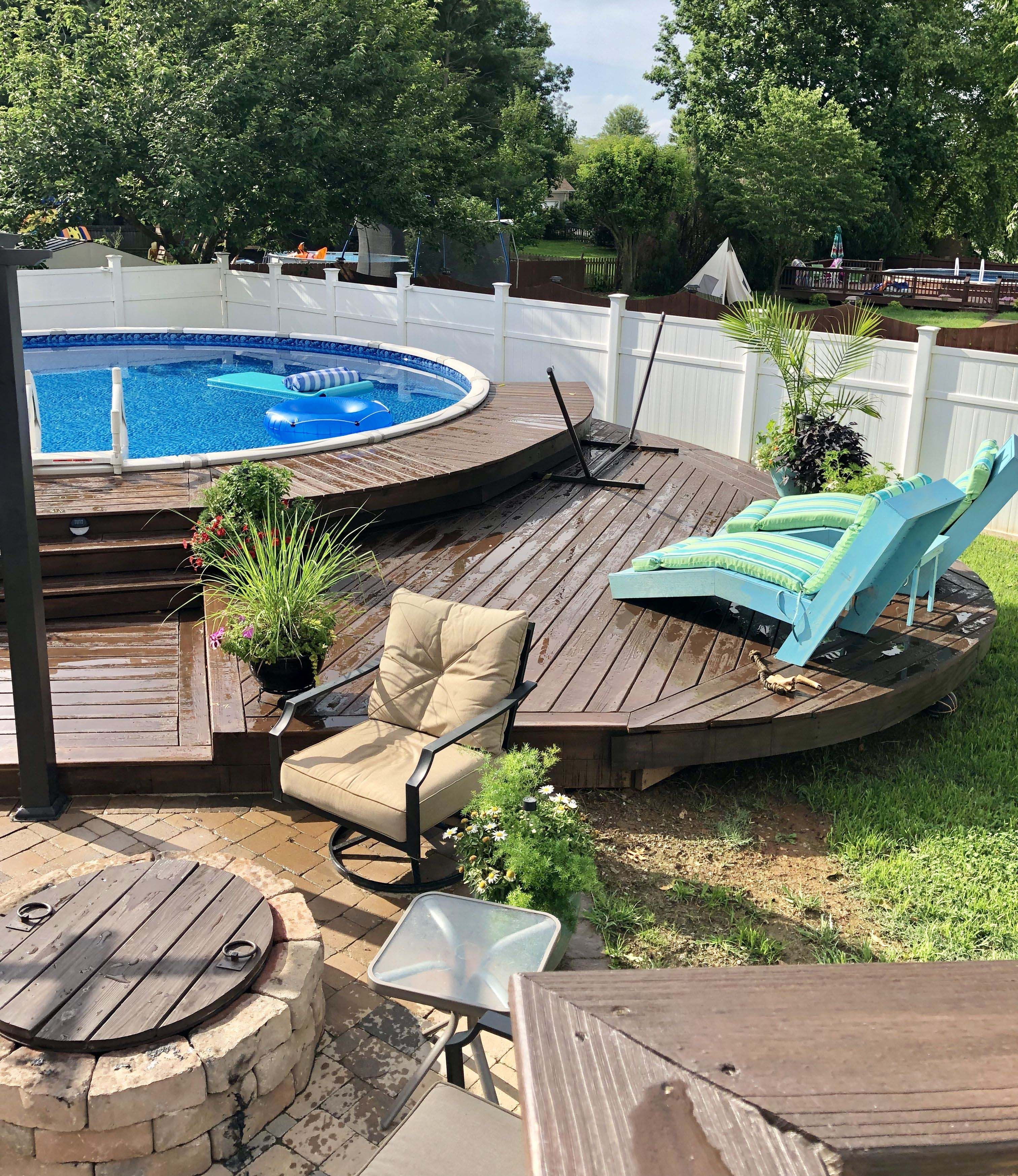How To Open An Above Ground Pool For The First Time? in ...