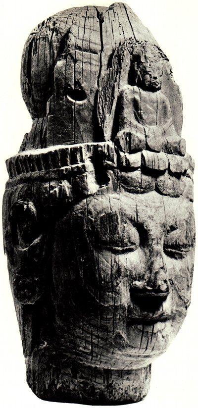 Head of Buddha from Daianji Temple, Japan, Tempyo period, 8th century