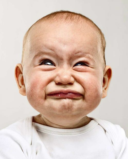 Cute Photos Of Not So Happy Babies Funny Baby Faces Funny Crying Baby Funny Faces