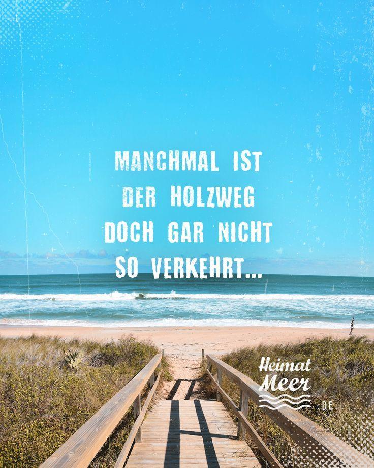 Manchmal ist der Holzweg nicht so falsch ... Mee (h) r >> -   #
