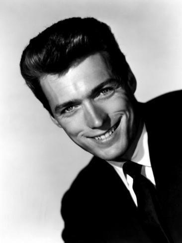 'Clint Eastwood, 1954' Photo -   Art.com