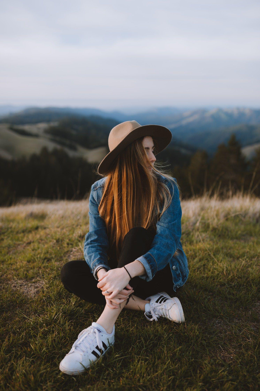 A Golden Sunset at Bolinas Ridge, California