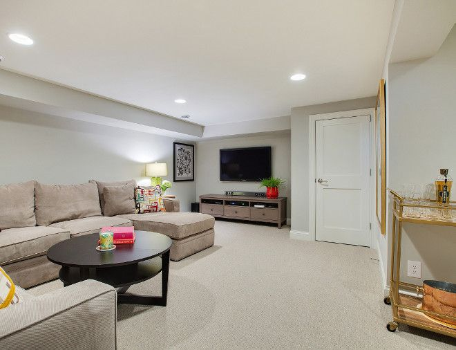 this is a great neutral basement paint color that i often recommend