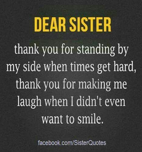 Dear Sister Quotes Sister Quotes Brother Quotes Thank