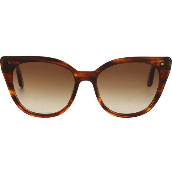 Chloë Sevigny For Opening Ceremony Darling Sunglasses (€320) ❤ liked on Polyvore