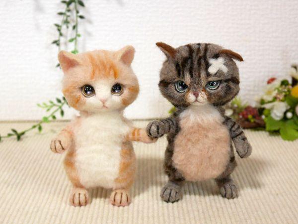 Кошка своими руками валяние фото 809