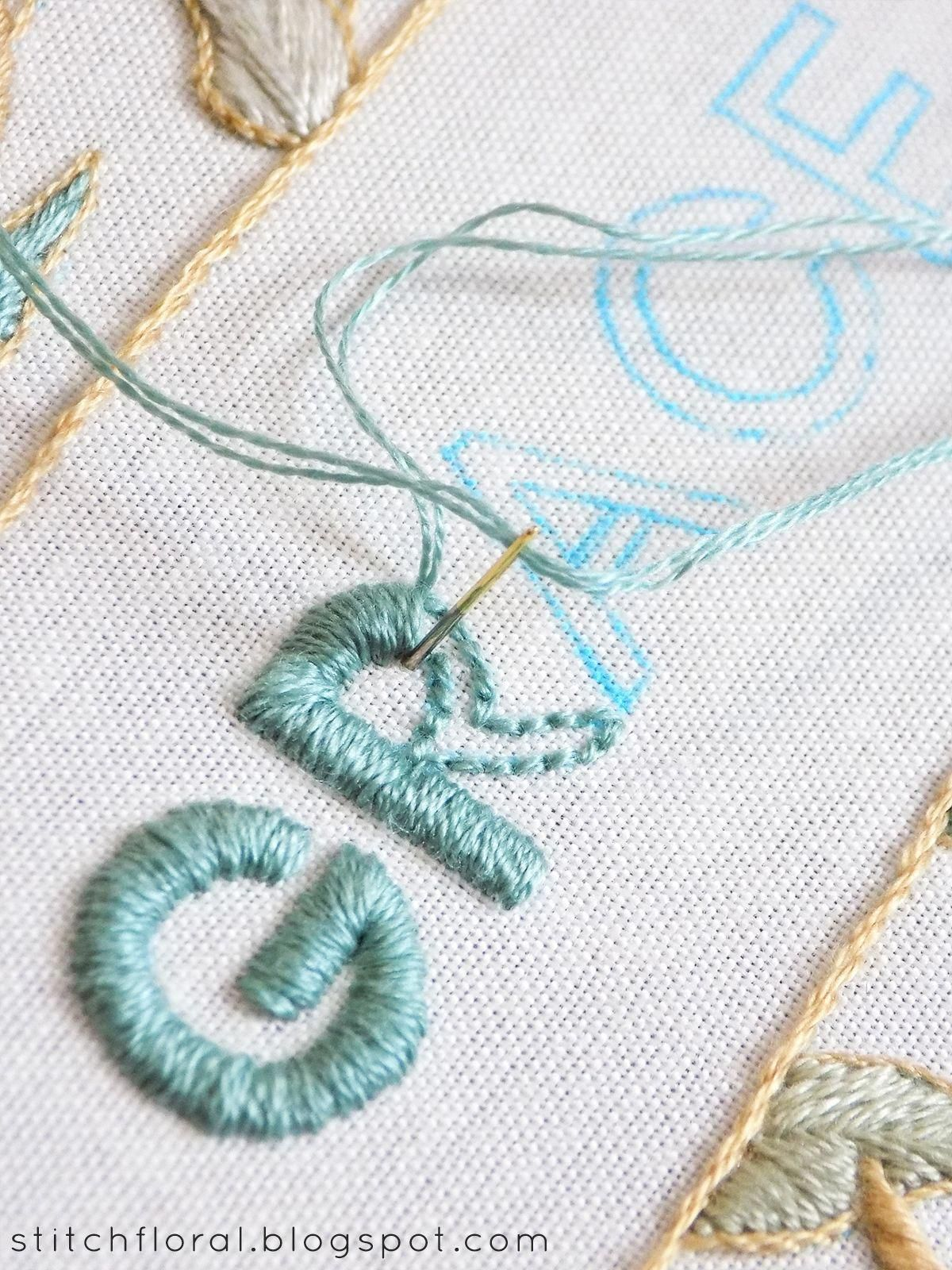Embroidery Outline Stitch : embroidery, outline, stitch, Outline, Pencil,, Stitch, Outline,, Fill!, #Embroiderystitches, Sewing, Embroidery, Designs,, Tutorials,