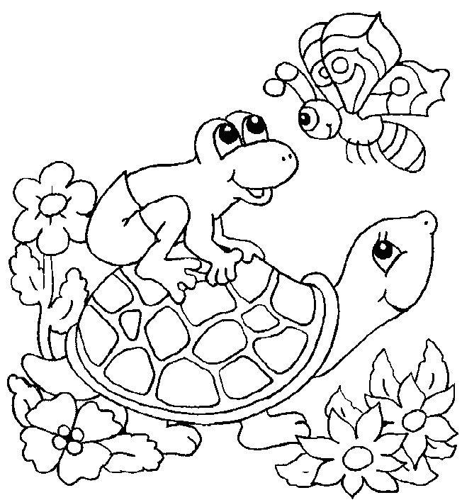 Turtle Frosch Malvorlagen Ausmalbilder Mandala Malvorlagen