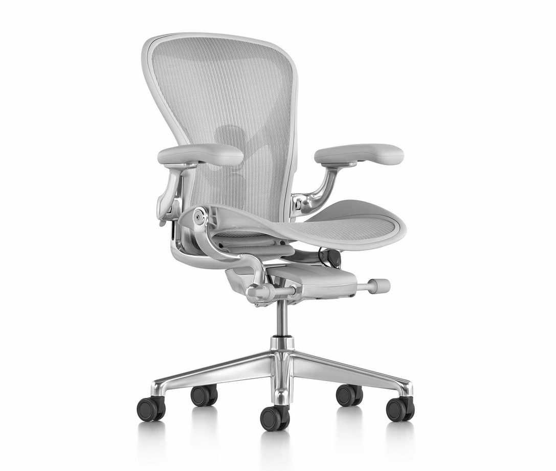 White Aeron Chair Covers Large Herman Miller Healthy Chairs