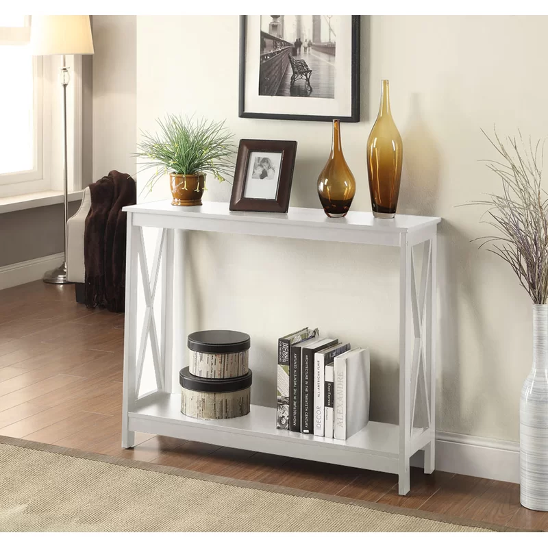 Stoneford 39 5 Console Table White Console Table