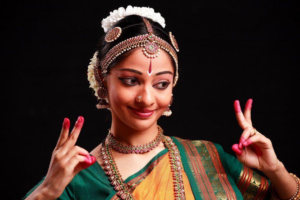 Beautiful indian classical dance indian dance dance of