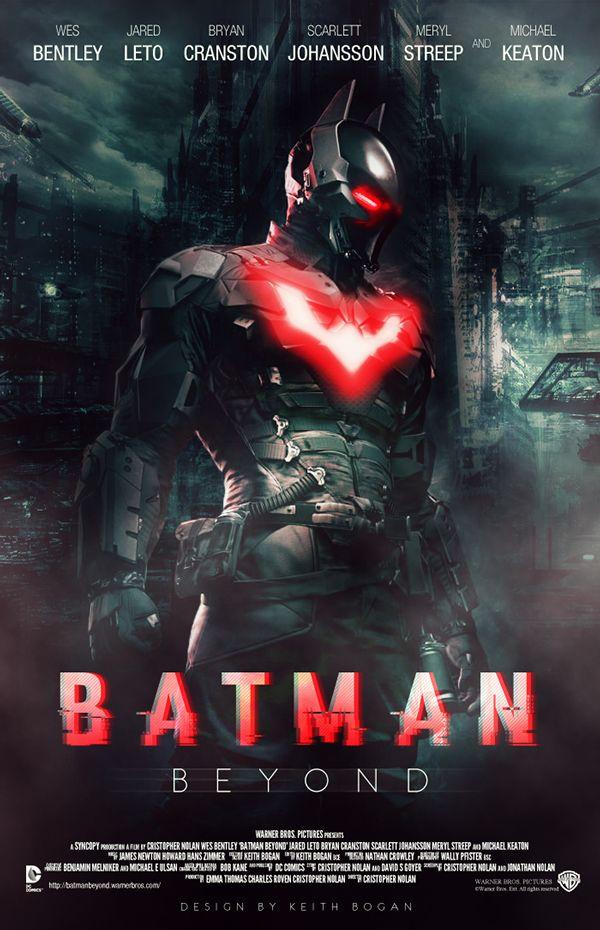 d0a1150fe74f Batman Beyond Fan Poster on Behance